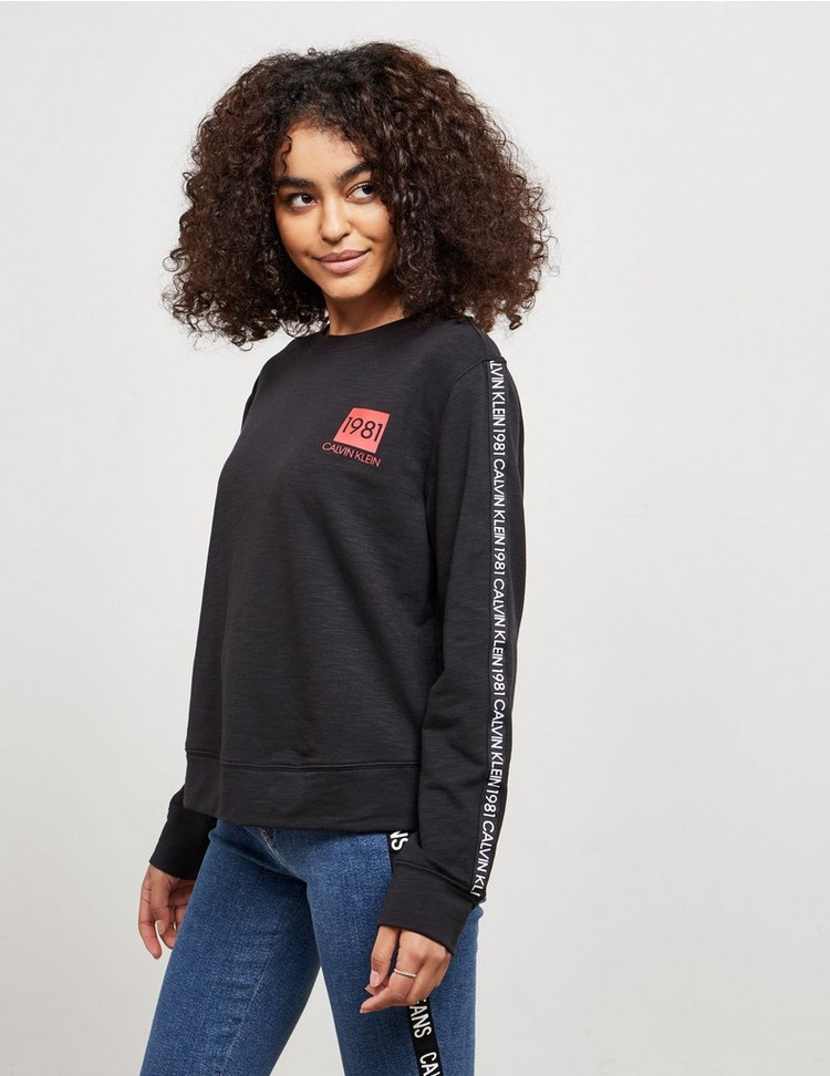 Calvin Klein Jeans Repeat Logo Crew Sweatshirt