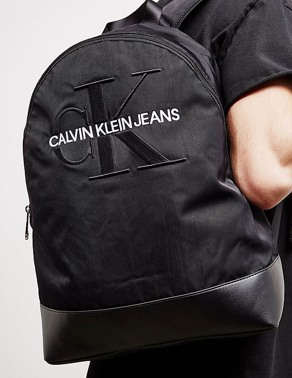 Calvin Klein Jeans Monogram Logo Backpack
