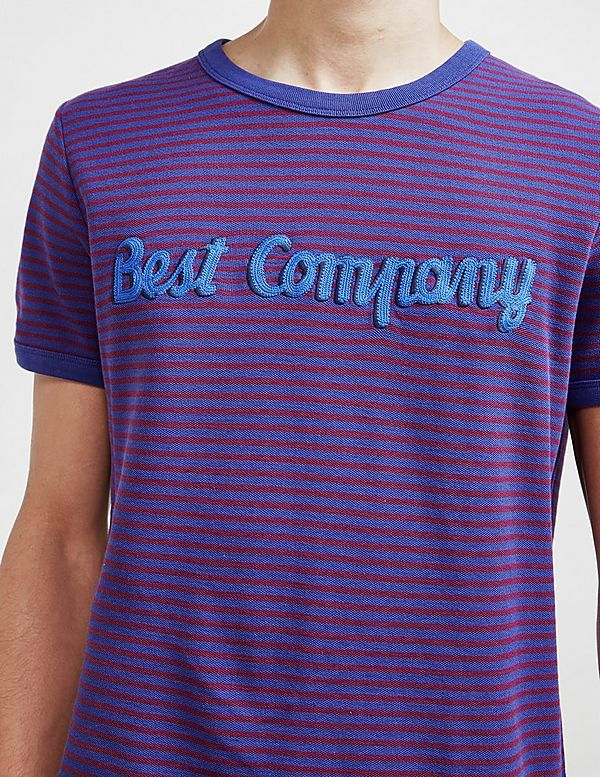 Best Company Fine Stripe Short Sleeve T-Shirt