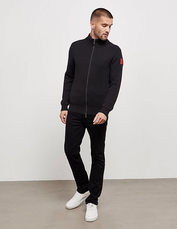 HUGO Sambre Two Zip Through Sweatshirt