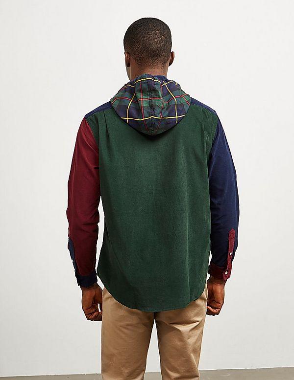 Polo Ralph Lauren Cut and Sew Bear Long Sleeve Shirt
