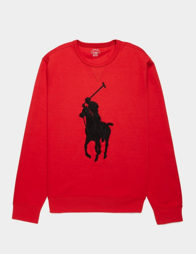 Polo Ralph Lauren Flocked Logo Sweatshirt