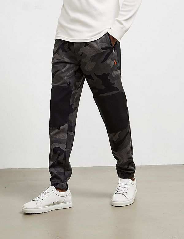 Polo Ralph Lauren Block Camouflage Track Pants