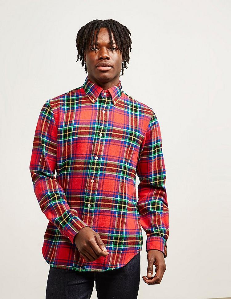 Polo Ralph Lauren Brush Twill Check Long Sleeve Shirt