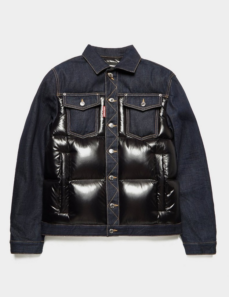 Dsquared2 Down Denim Jacket