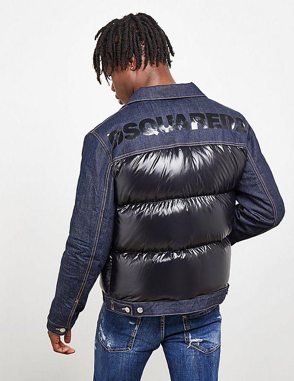 Dsquared2 Down Denim Jacket
