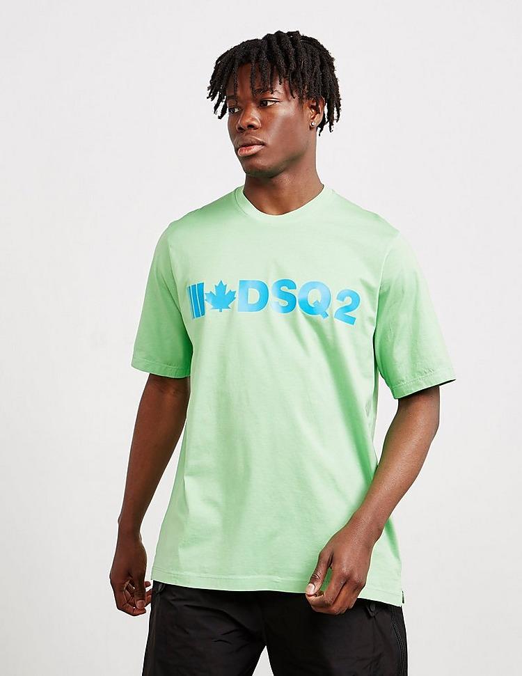 Dsquared2 Maple Leaf Short Sleeve T-Shirt