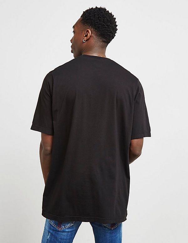 Dsquared2 Split Text Short Sleeve T-Shirt