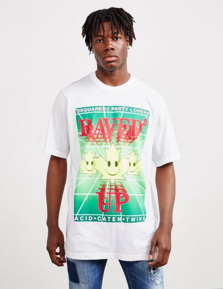 Dsquared2 Raved Up Short Sleeve T-Shirt