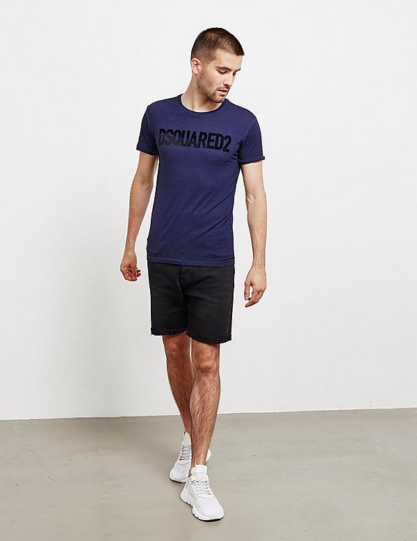Dsquared2 Felt Logo Short Sleeve T-Shirt