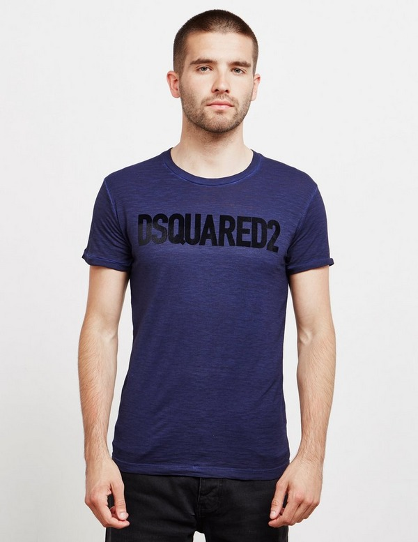 Dsquared2 Felt Logo Short Sleeve T-Shirt
