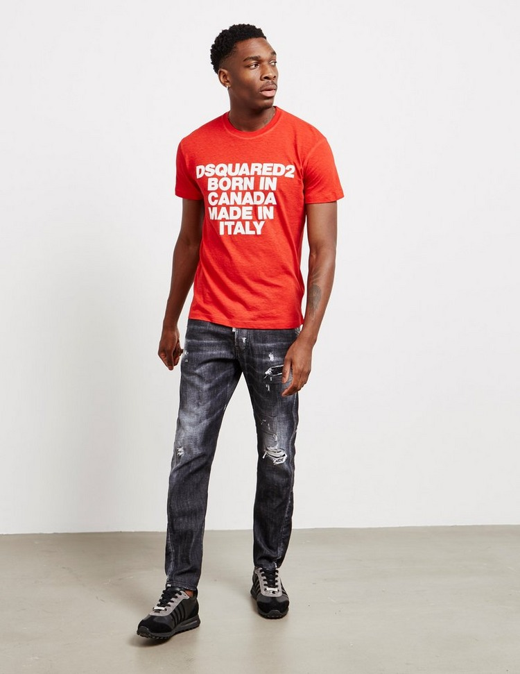 Dsquared2 Born In Canada Short Sleeve T-Shirt
