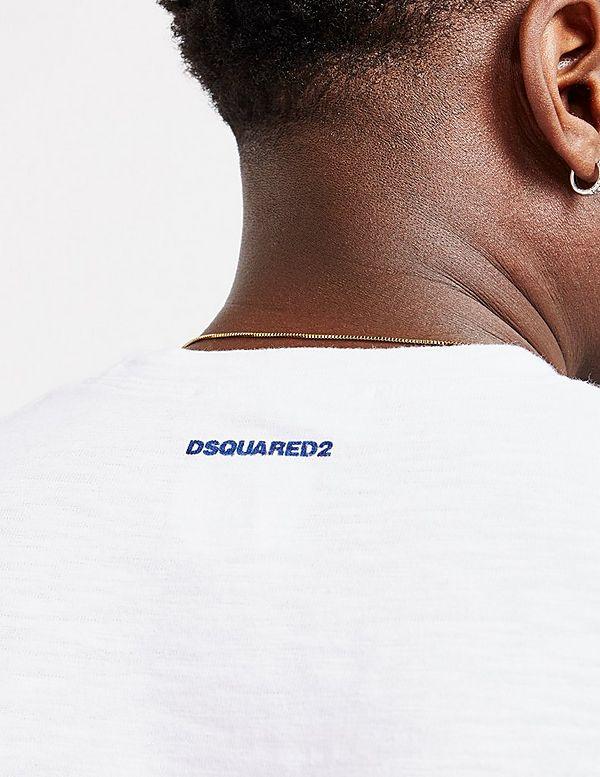 Dsquared2 Caten Leaf Short Sleeve T-Shirt