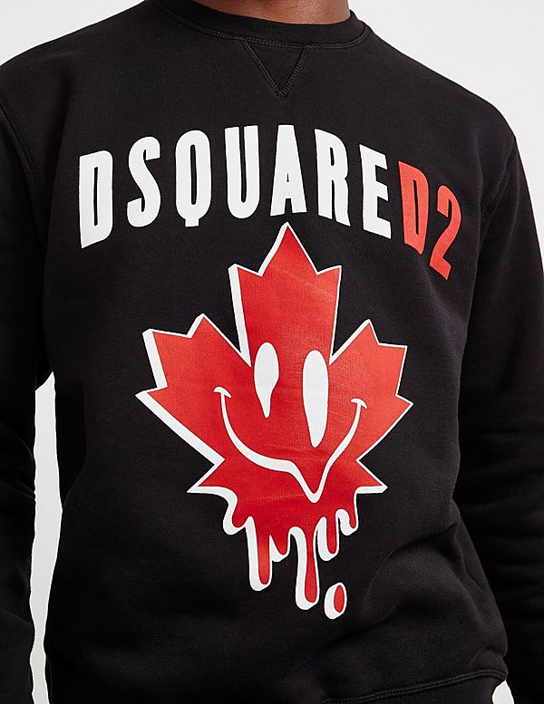 Dsquared2 Acid Leaf Sweatshirt