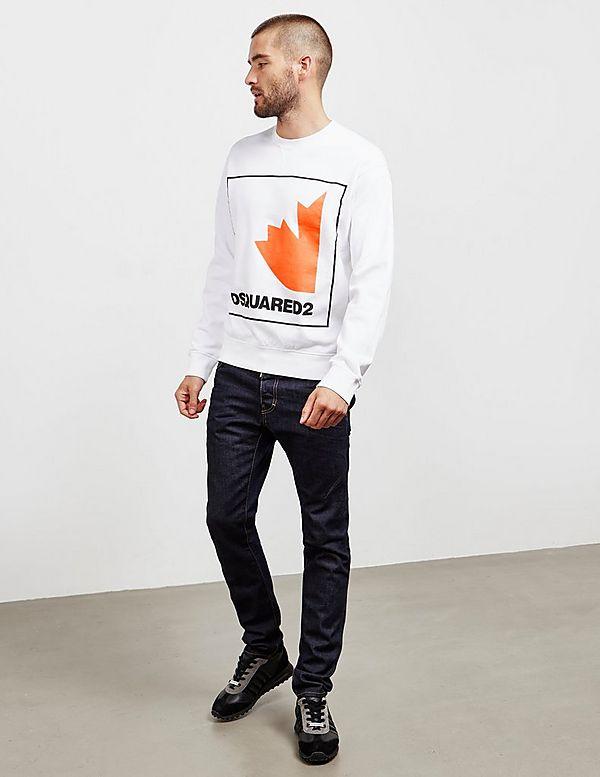 Dsquared2 Leaf Box Sweatshirt
