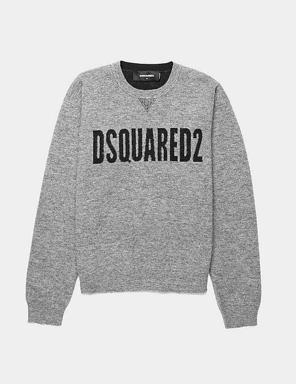 Dsquared2 Text Logo Knit Jumper