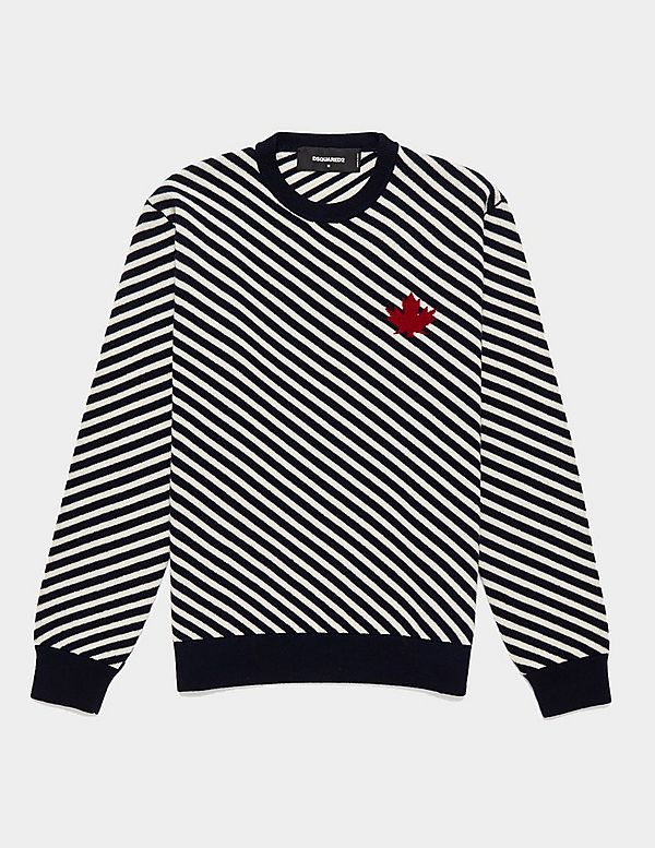 Dsquared2 Stripe Maple Knit Jumper