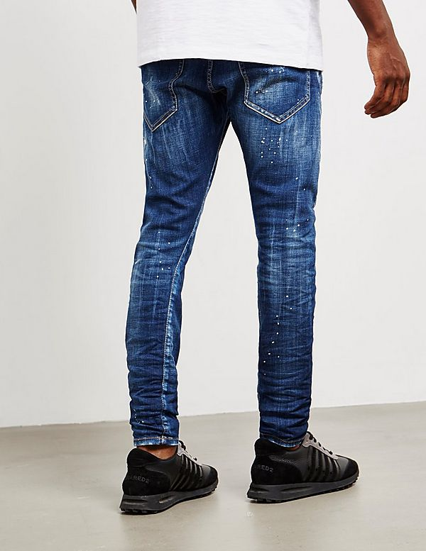 Dsquared2 Under Patch Skinny Jeans