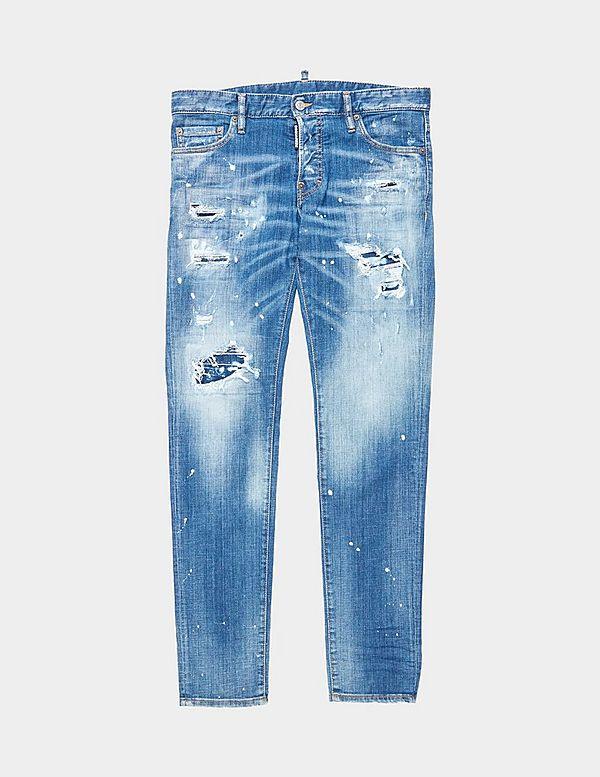 Dsquared2 Slim Distressed Jeans
