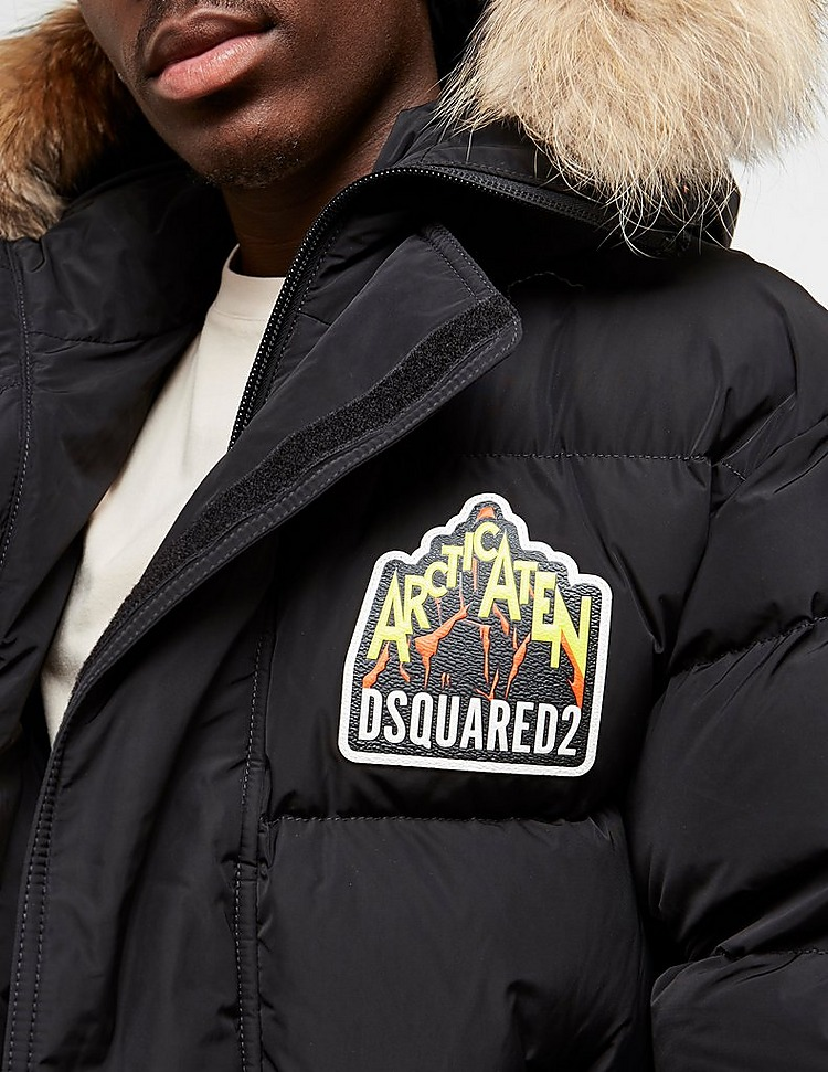 Dsquared2 Fur Parka Jacket