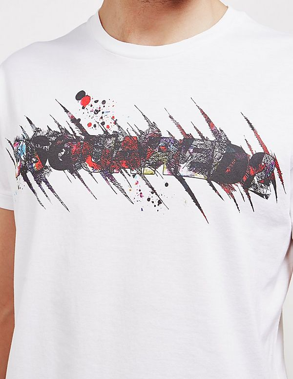 Dsquared2 Sketch Logo Short Sleeve T-Shirt