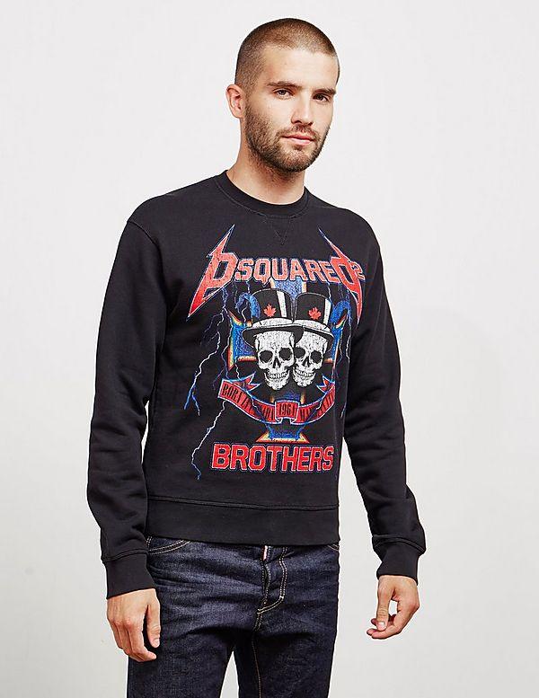 Dsquared2 Skull Brothers Sweatshirt