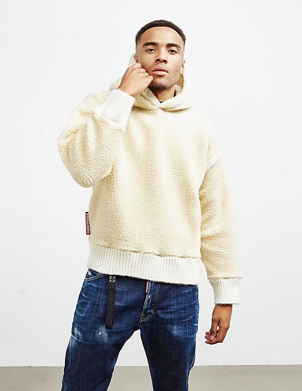 Dsquared2 Shearling Hoodie - Online Exclusive