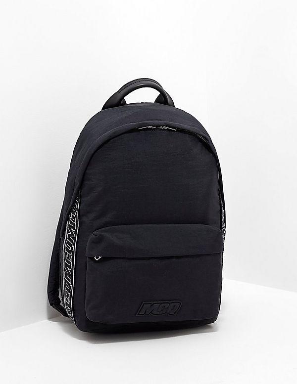McQ Tape Logo Backpack