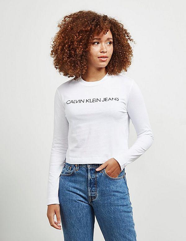 Calvin Klein Jeans Institutional Long Sleeve T-Shirt