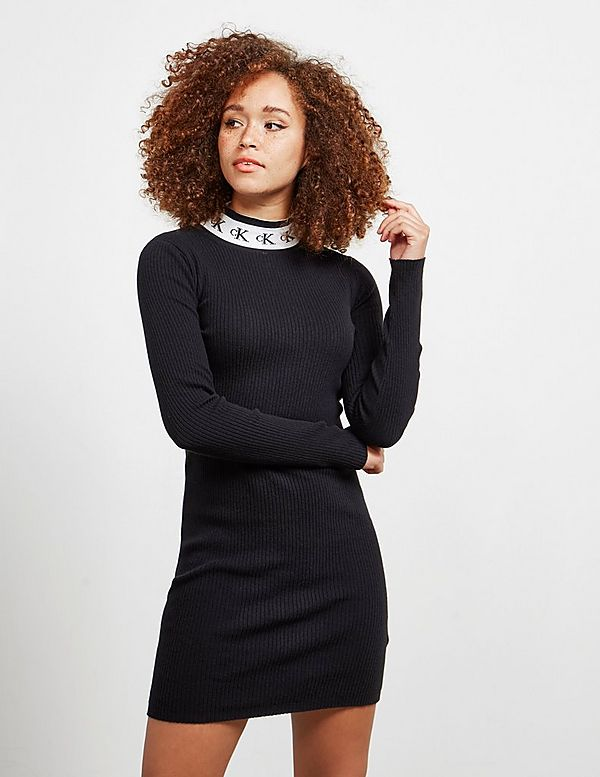 Calvin Klein Jeans Tape Knit Dress
