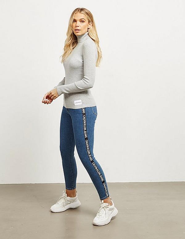 Calvin Klein Jeans Ribbed Turtle Neck Jumper