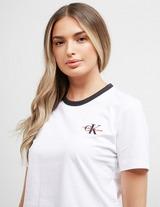 Calvin Klein Jeans Monogram Ringer Short Sleeve T-Shirt