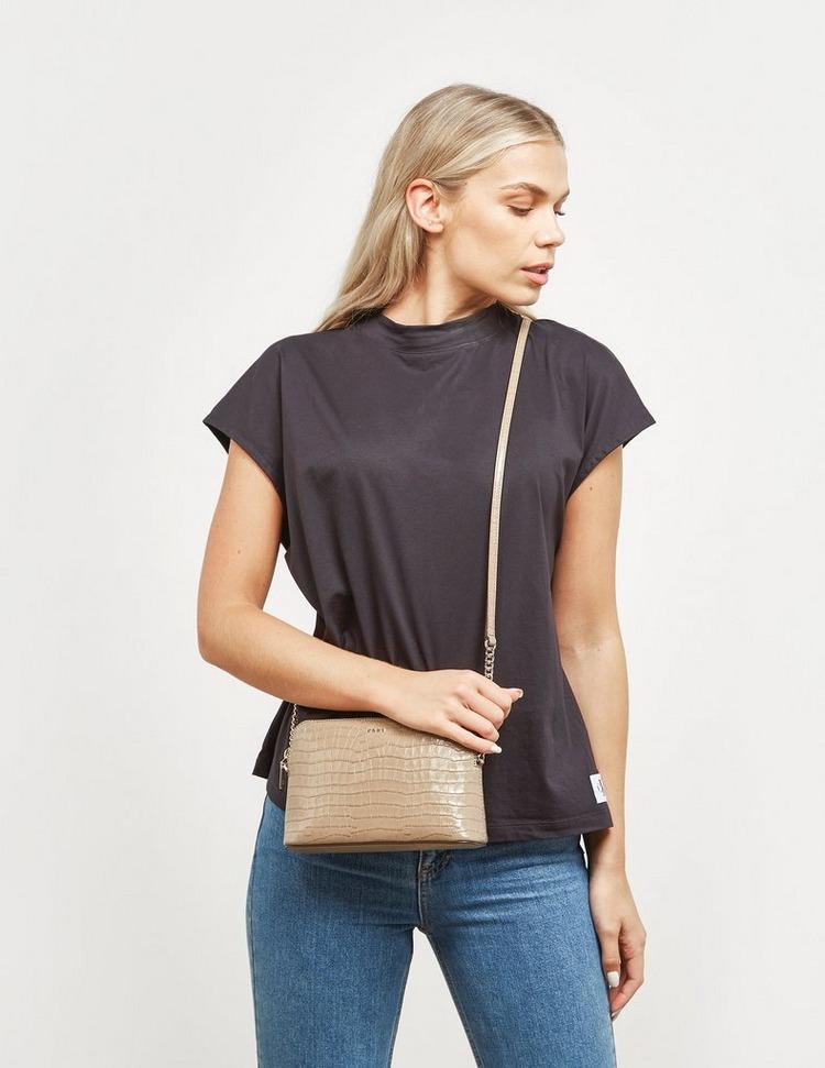 DKNY Bryant Croc Shoulder Bag