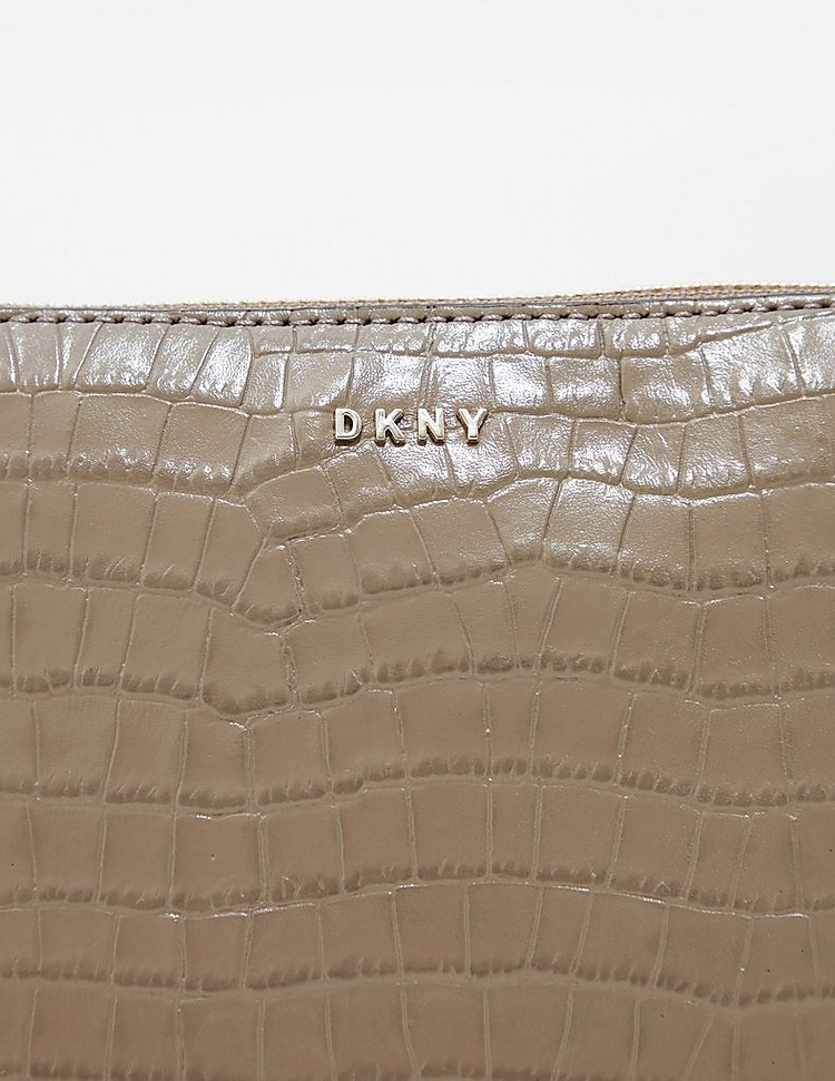 DKNY Bryant Croc Shoulder Bag