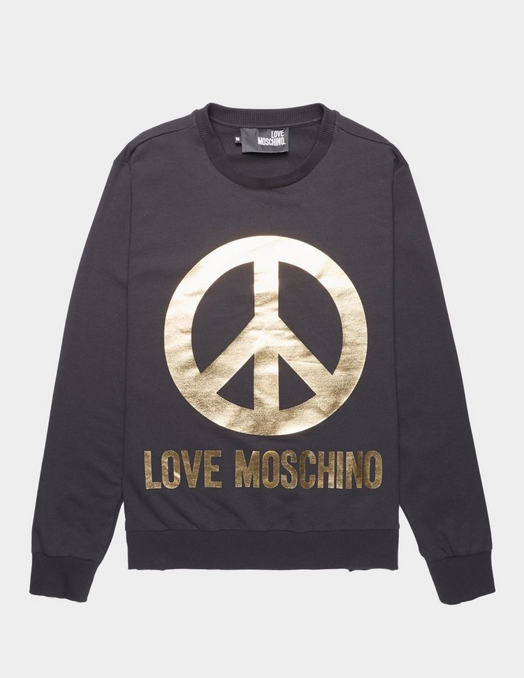 Love Moschino Gold Peace Sweatshirt