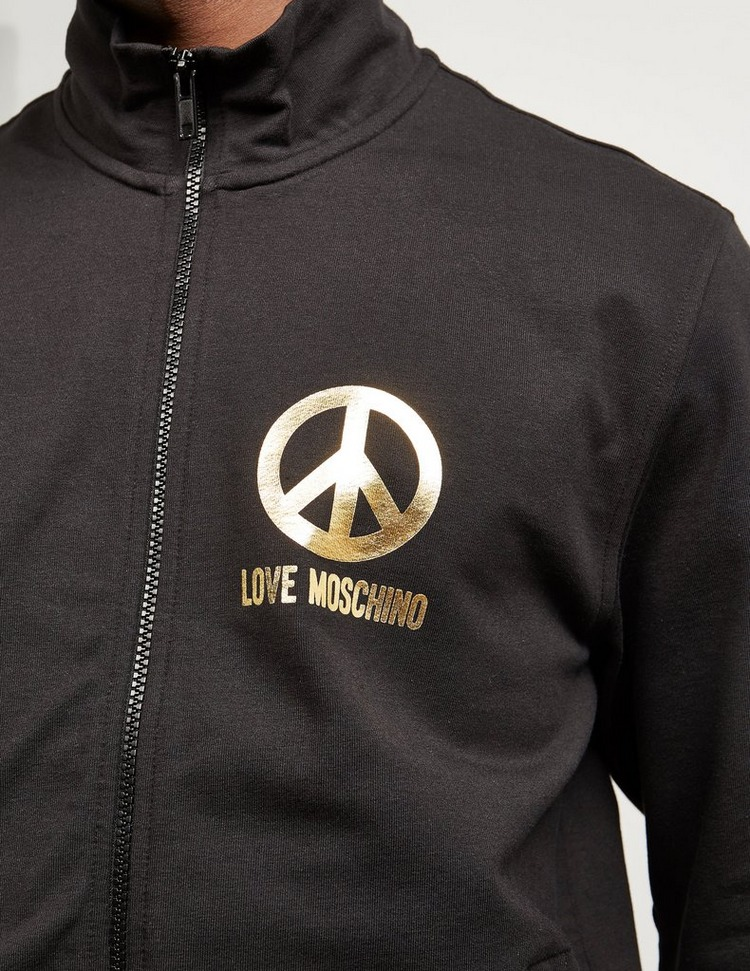Love Moschino Gold Peace Track Top