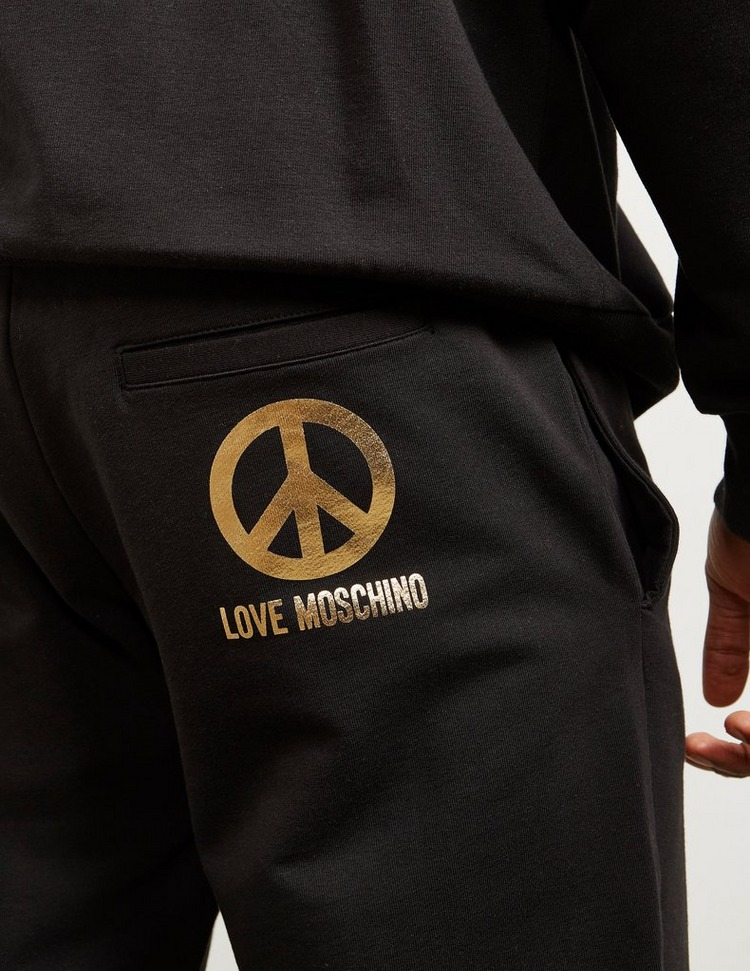 Love Moschino Gold Peace Track Pants