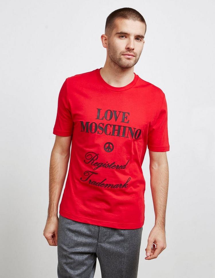 Love Moschino Registered Short Sleeve T-Shirt