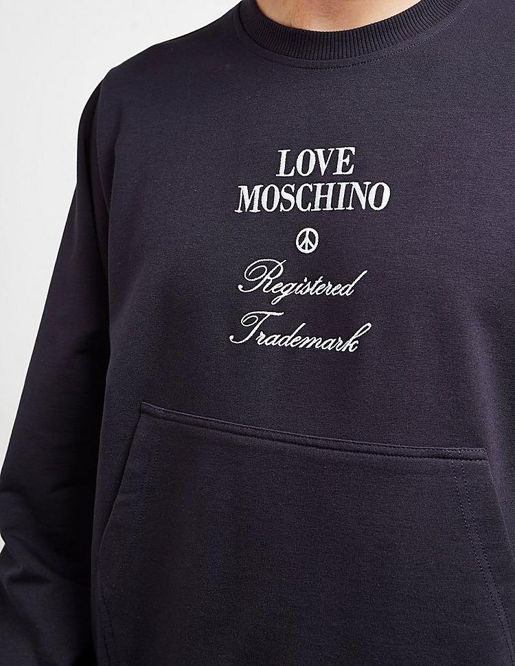 Love Moschino Registered Sweatshirt