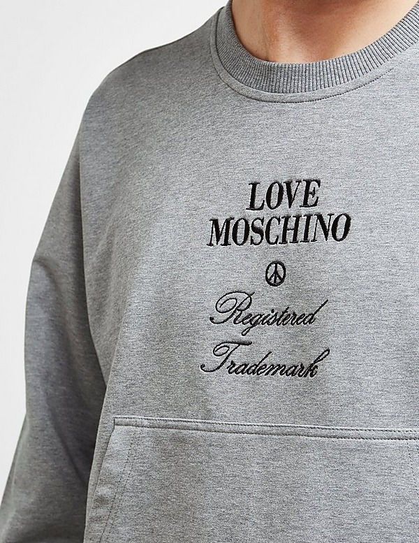 Love Moschino Registered Sweatshirt