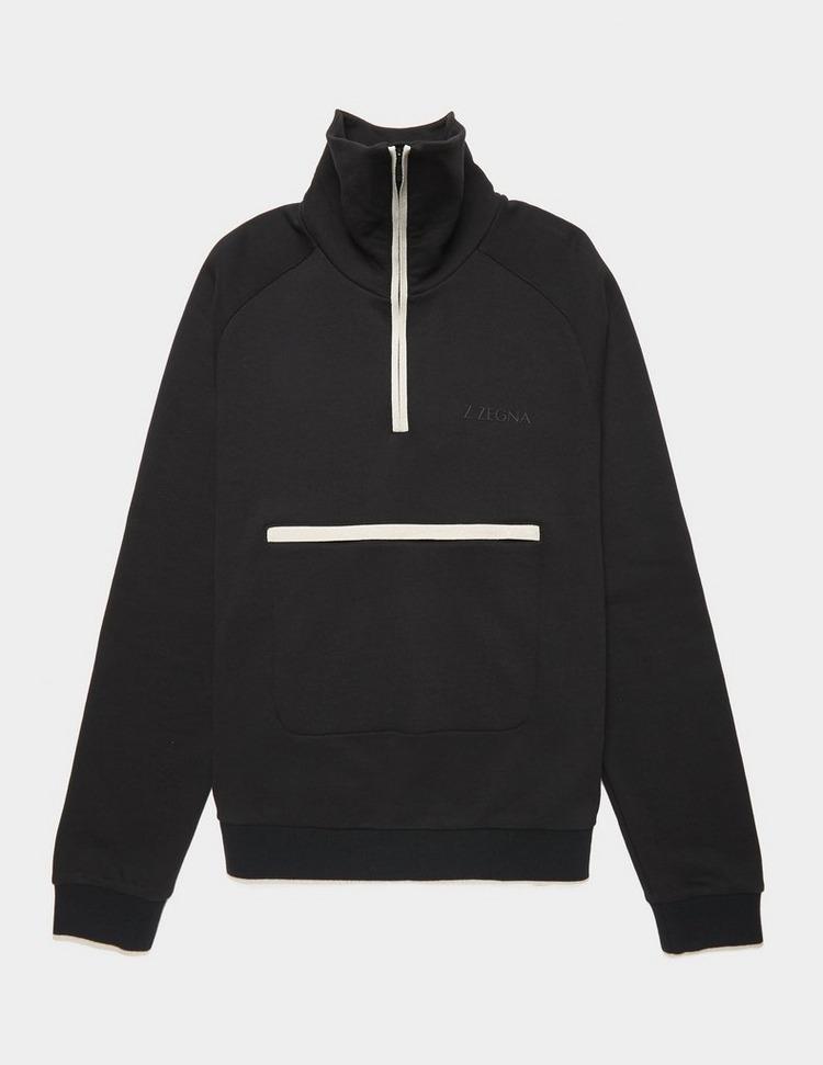 Z Zegna Half Zip Sweatshirt