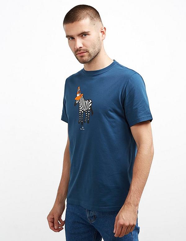 PS Paul Smith Cone Zebra Short Sleeve T-Shirt