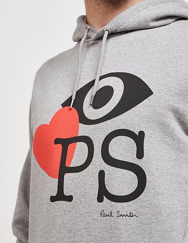 PS Paul Smith Eye Love Paul Smith Overhead Hoodie