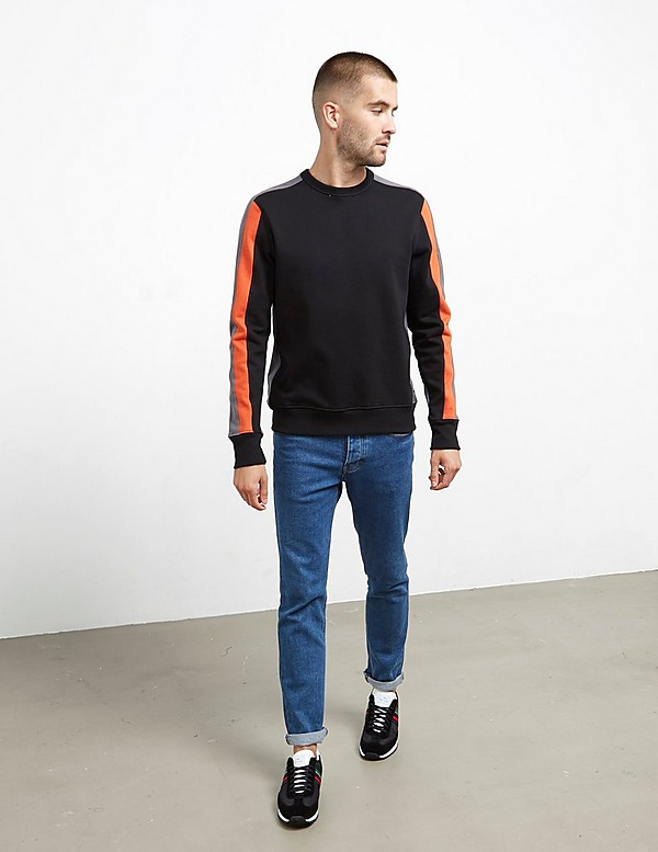 PS Paul Smith Cut and Sew Crew Sweatshirt