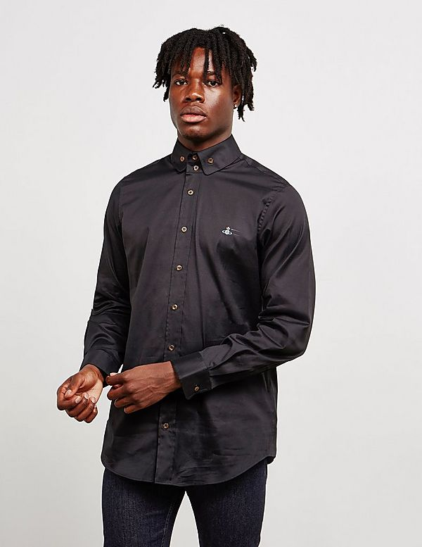 Vivienne Westwood Two Button Long Sleeve Oxford Shirt