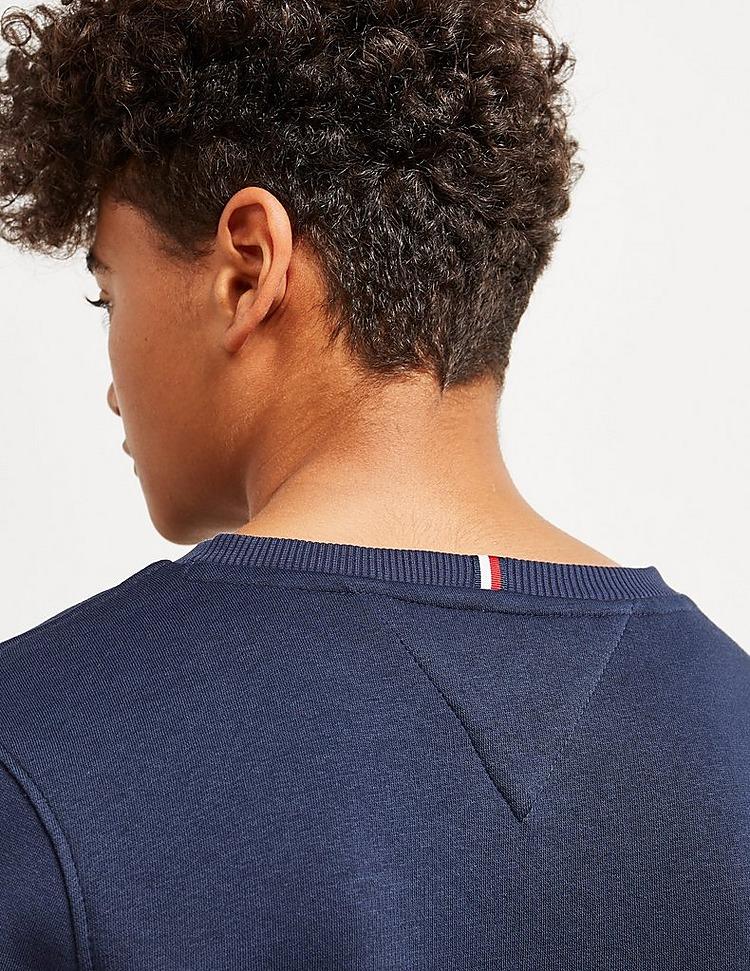 Tommy Hilfiger Logo Crew Sweatshirt Junior