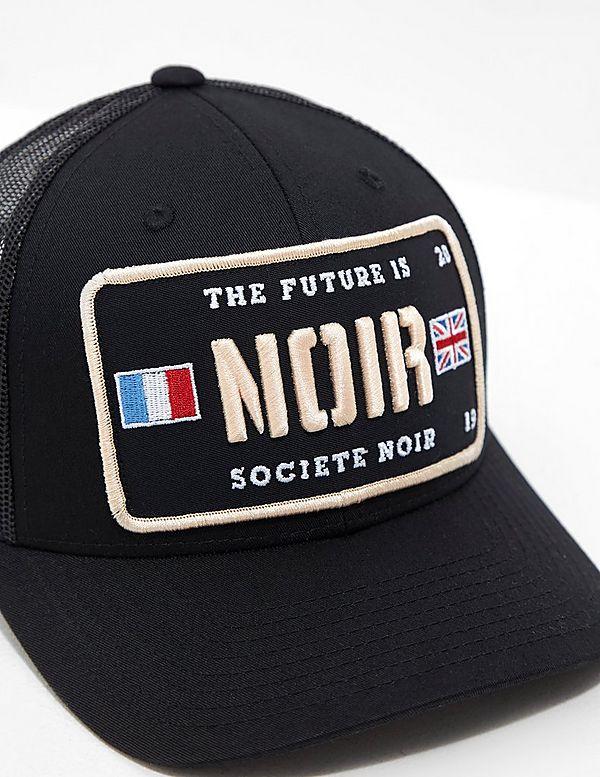 societe NOIR Plate Logo Cap