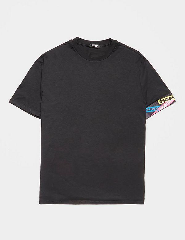 Dsquared2 Tip Logo Short Sleeve T-Shirt