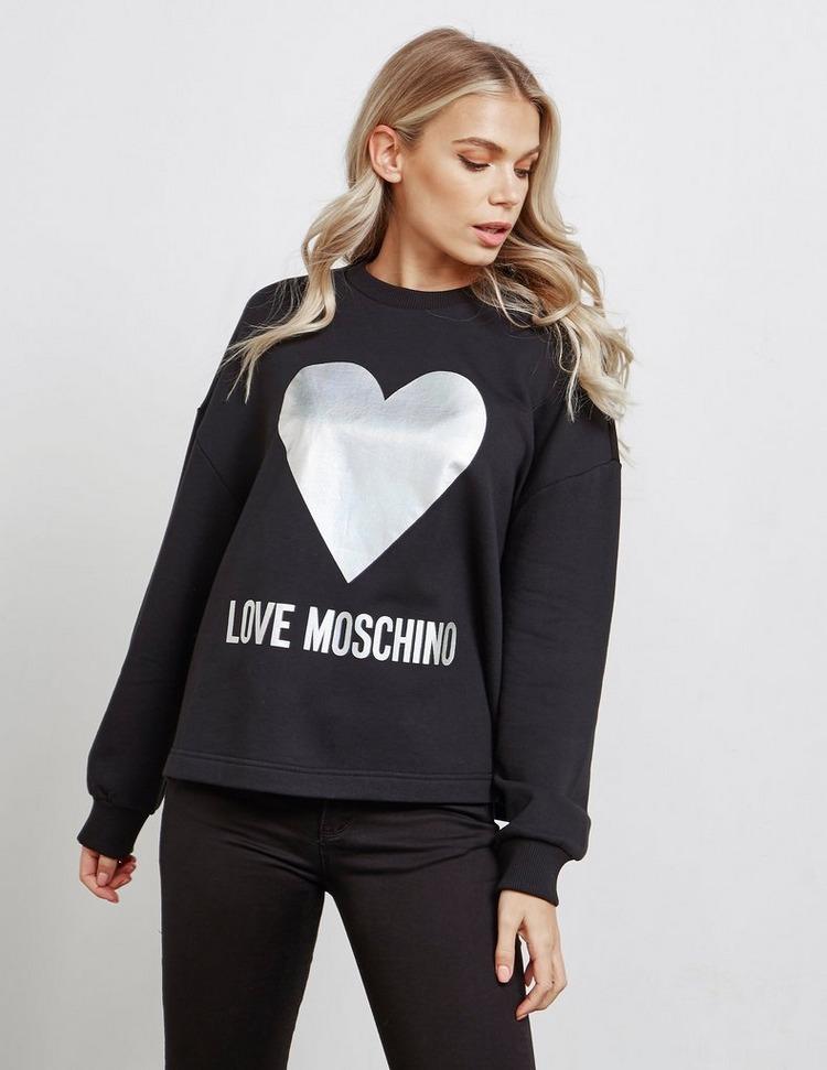 Love Moschino Foil Sweatshirt