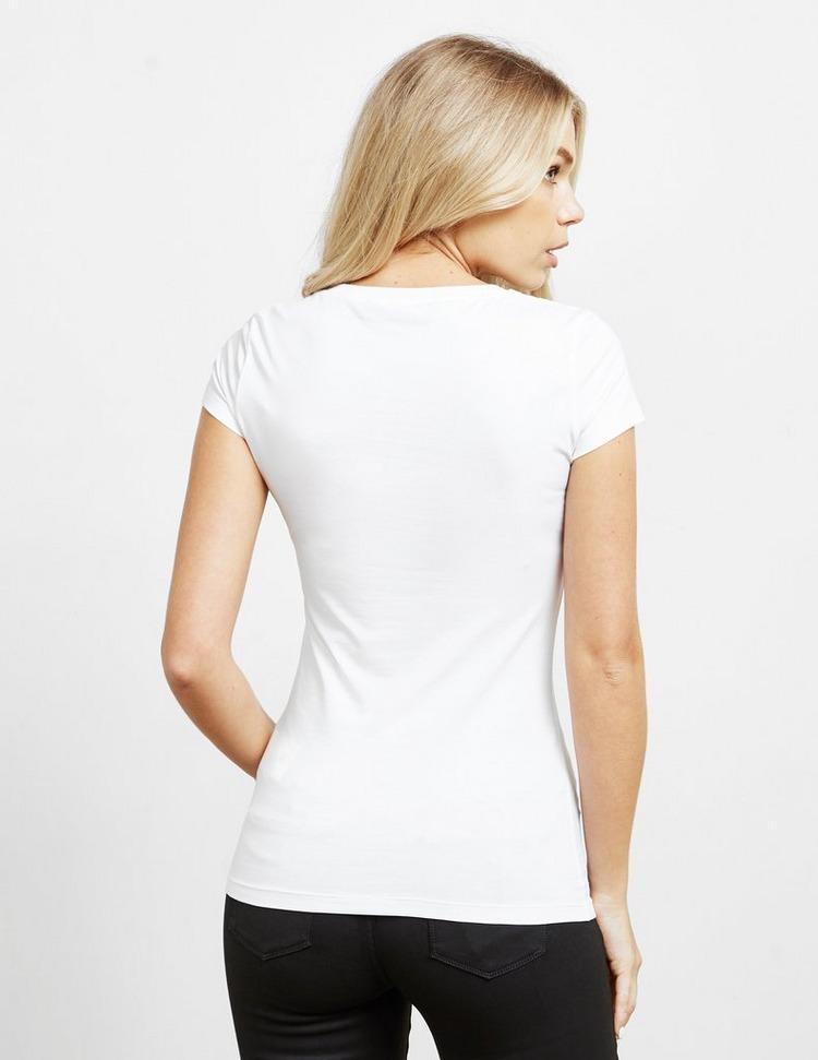 Love Moschino Link Heart Short Sleeve T-Shirt